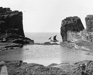 The Grind in 1900 &copy Shetland Museum
