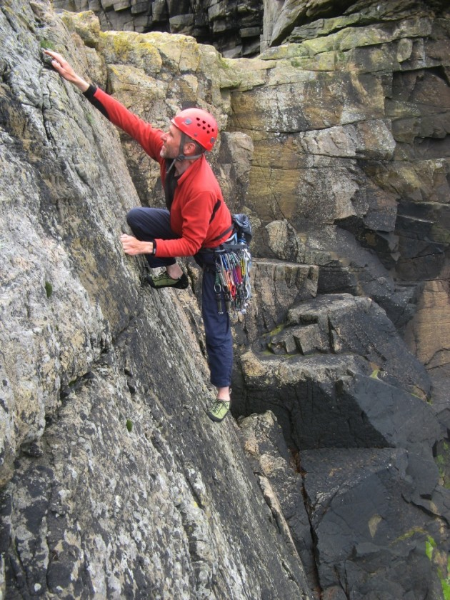 Ross solo first ascent of Passing Comment